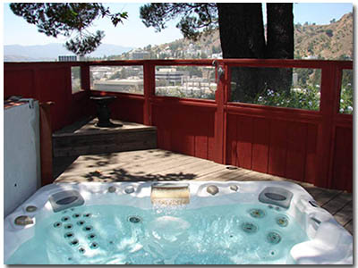 Arroyo del Sol Clothing Optional Hot tub