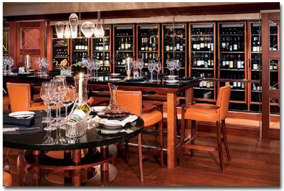 Azamara Cruises Wine Bar