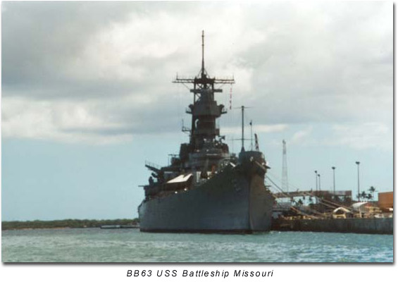 BB63 Battleship Missouri