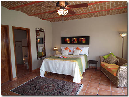 Casa Encantado Clothing Optional Bed and Breakfast Bedroom