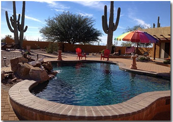 Desert Joy Tucson Clothing Optional Bed and Breakfast