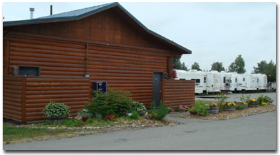 Golden Nugget RV Park - Anchorage Alaska