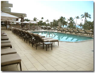 View of Hyatt Waikiki Pool