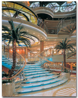 Princess Cruises Atrium Lobby