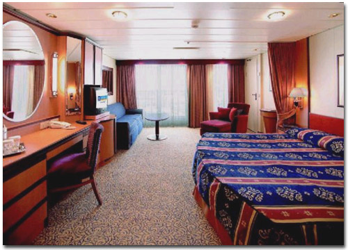 Royal Caribbean Cruise Cabin