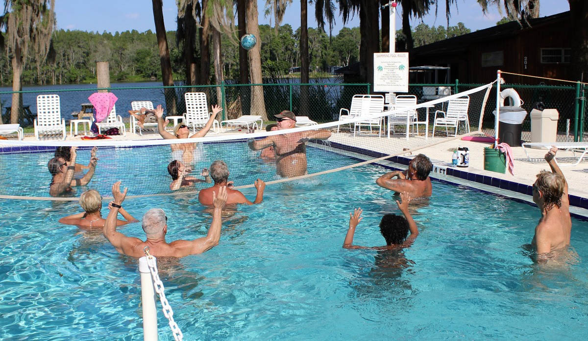 nudist Naturist games family pool