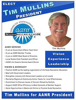 Tim Mullins for AANR President