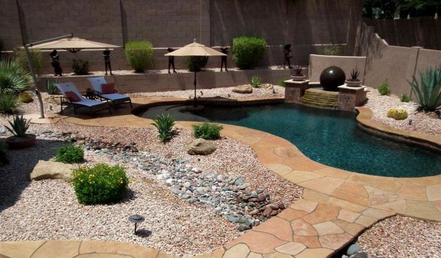 Casa Jardin Paraiso Clothing Optional Backyard