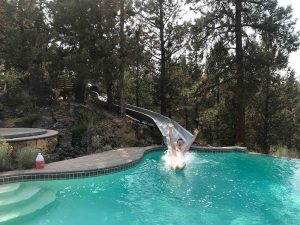 Alpenglow Ranch Pool Slide