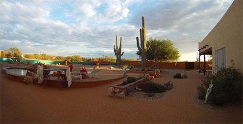 Desert Joy Tucson Clothing Optional Backyard