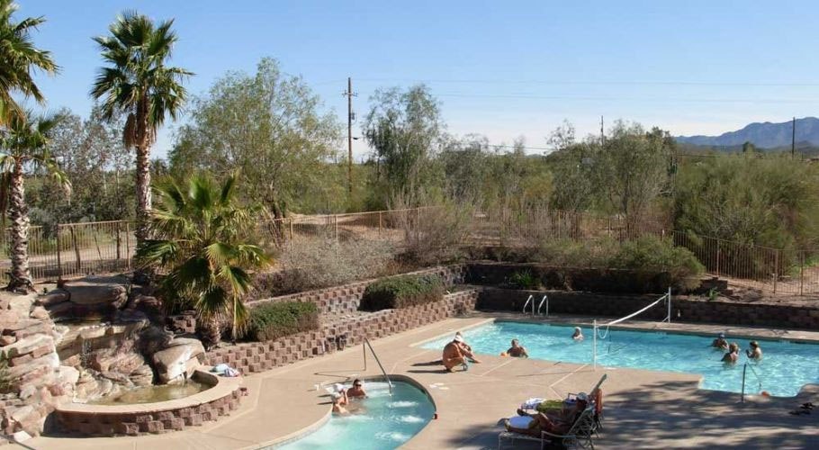 Mira Vista Nudist Resort Pool