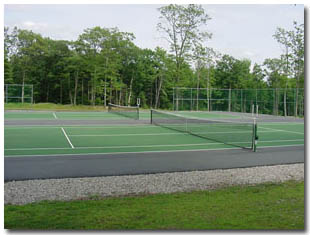Sunridge Nudist Resort Tennis