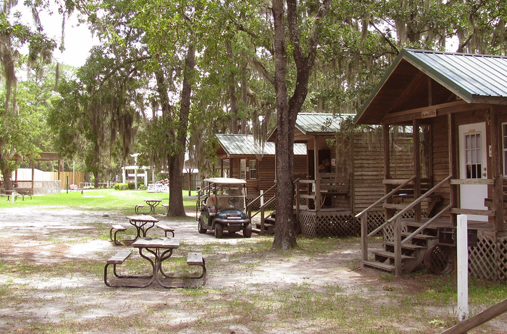 Suwannee Valley Resort Overnight Cabins