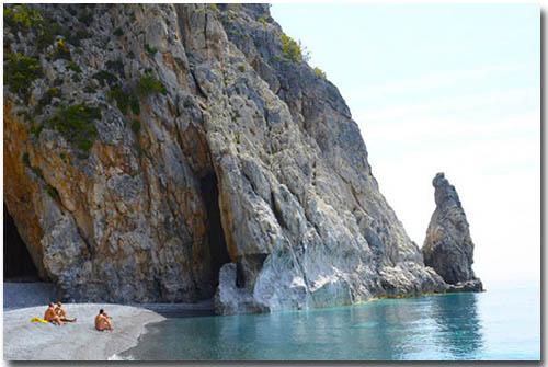Vritomartis FKK Nudist Beach Crete