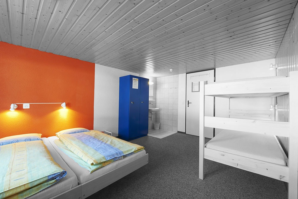 Youth Hostel Bedroom Example