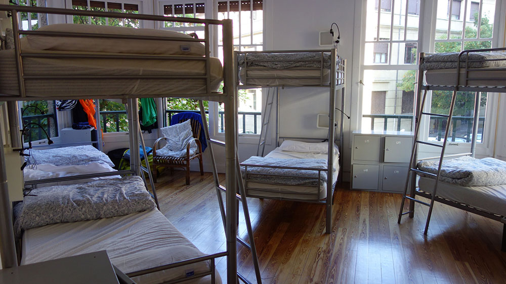 Youth Hostel Bedroom
