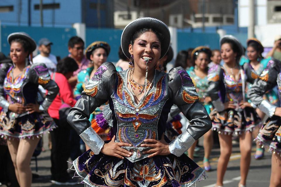 Lima Peru Dancers