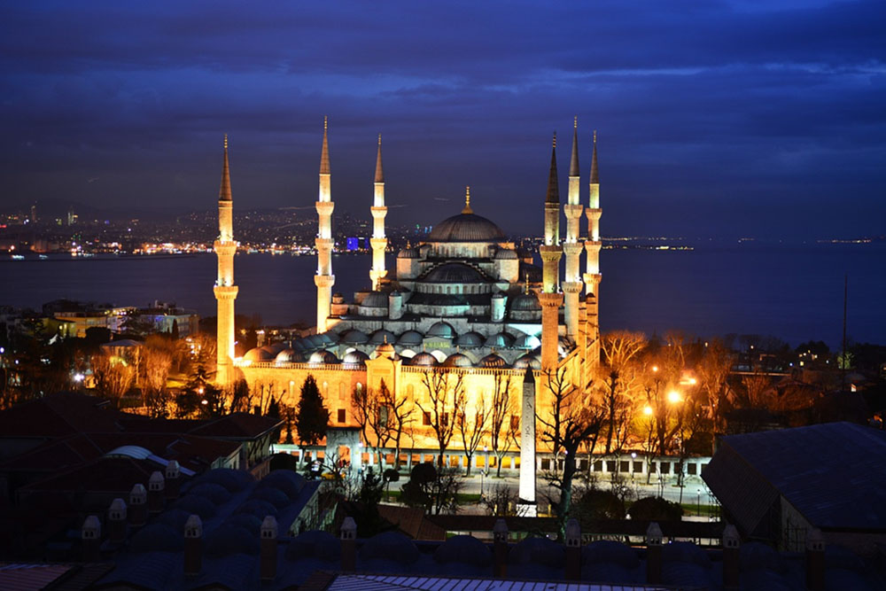 Instanbul Turkey Blue Mosque