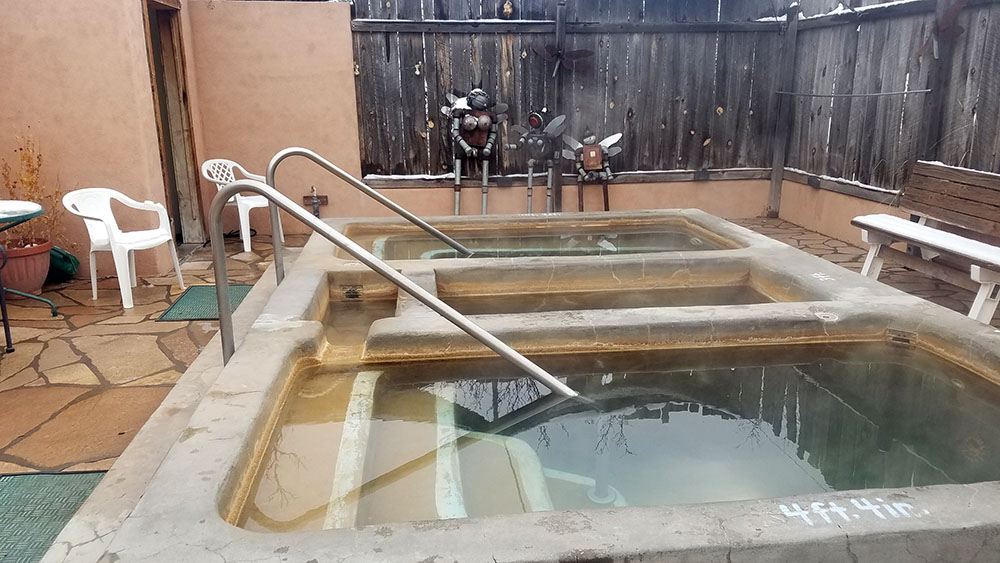 Faywood Hot Springs New Mexico Soaking Tub