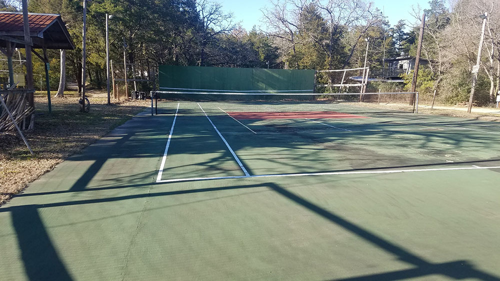 Star Ranch Nude Tennis Court