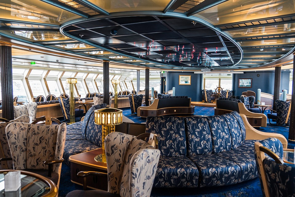 Cruise Ship Lounge Area