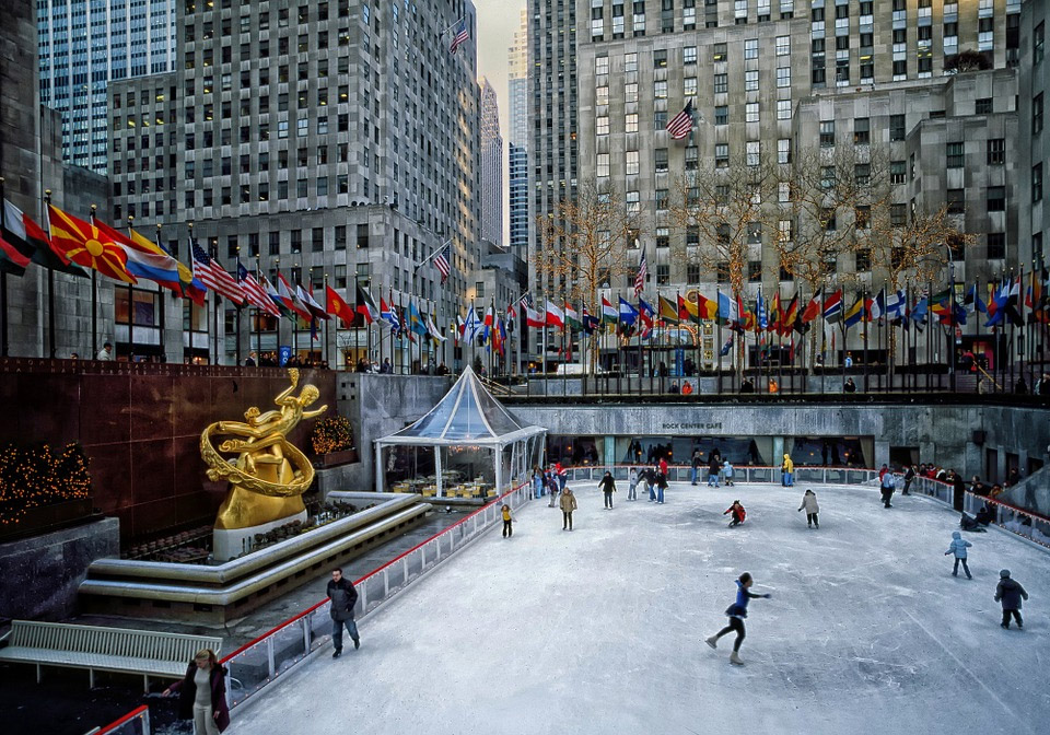 New York City Rockefeller-Plaza