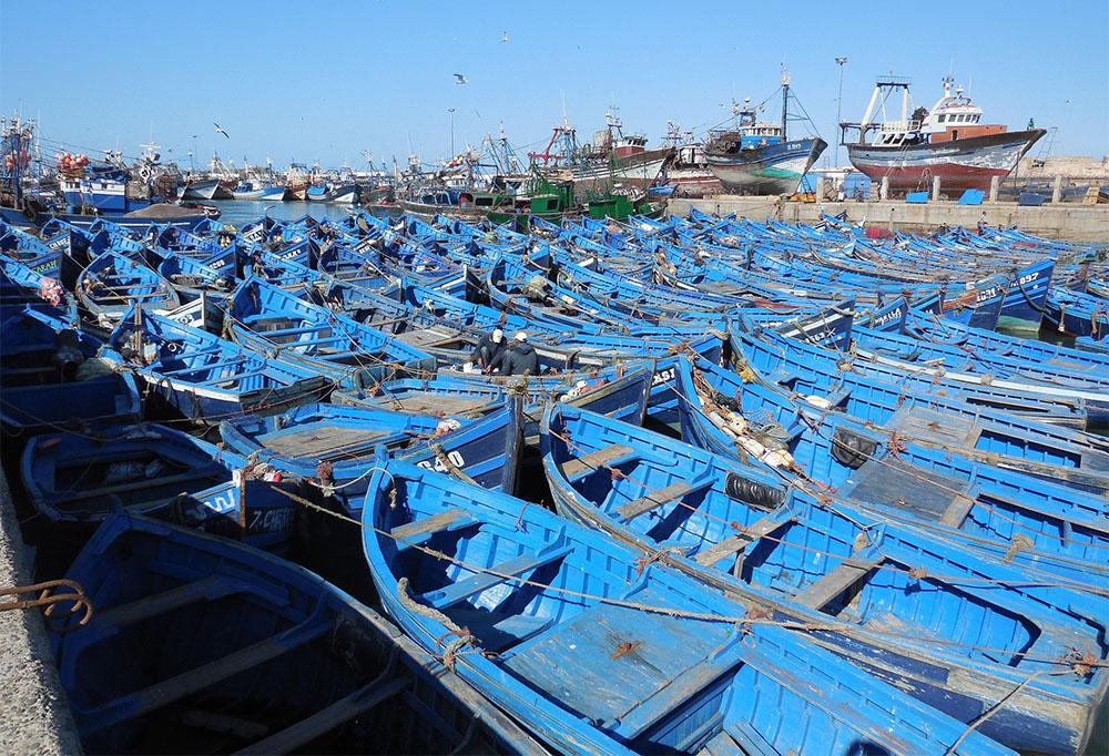 Morocco Boat Harbor