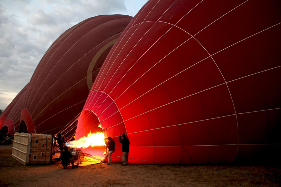 Hot Air Ballooning in Marrakesh