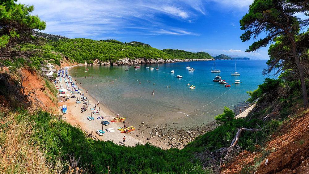 Croatia Sunj Beach