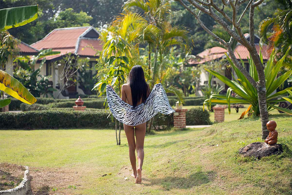 Oriental Village Naturist Resort Chang Mai Grounds