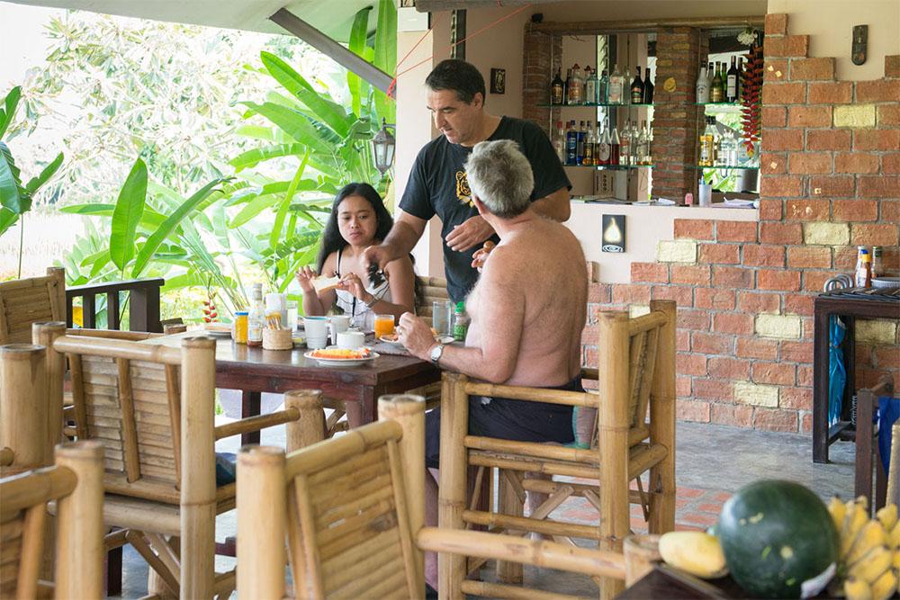 Oriental Village Naturist Resort Restaurant