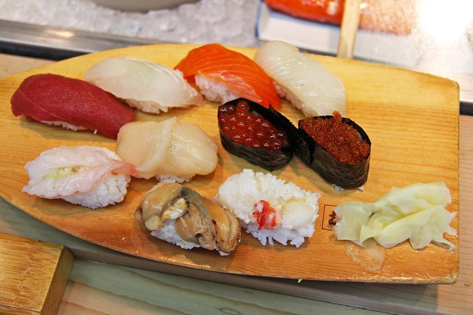 Japanese Sashimi Sushi