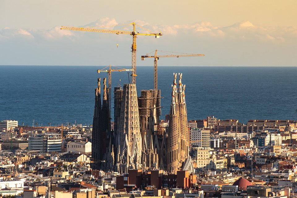 Barcelona Iglesia Sagrada Famalia