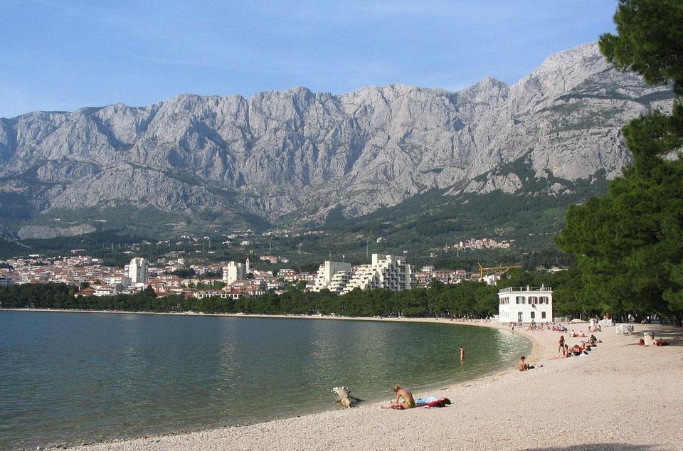 Croatia Makarska Beach