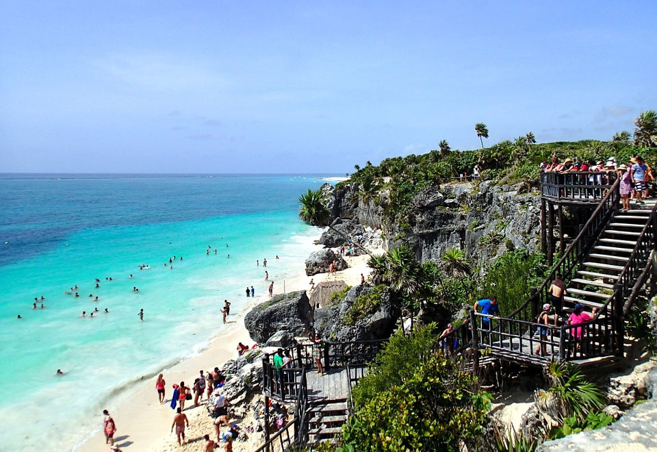 Mexico Tulum Beach