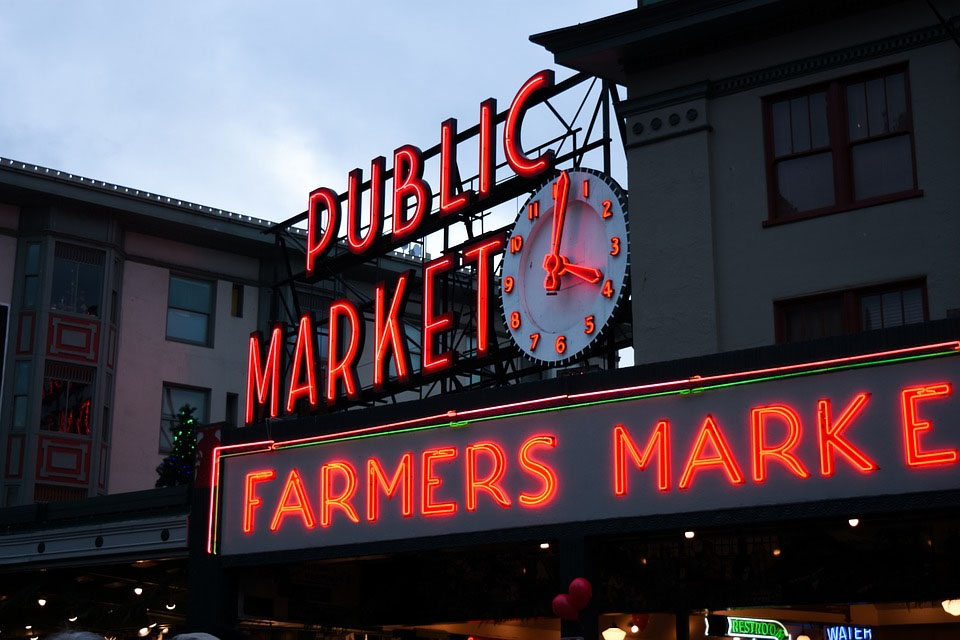 Seattle Pikes Place Public Market
