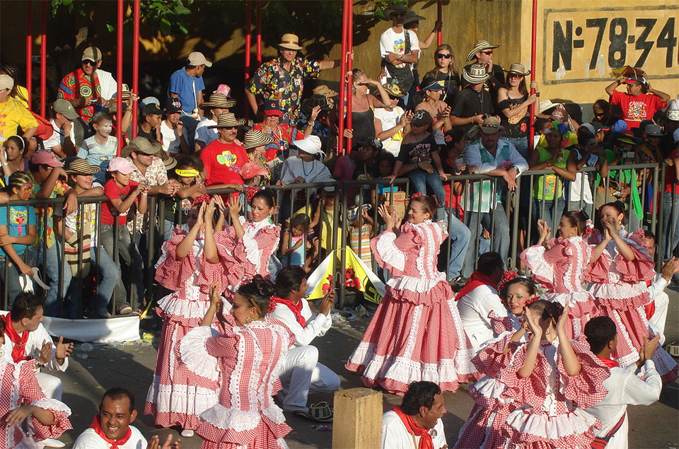Columbia Carnival In Barranquilla