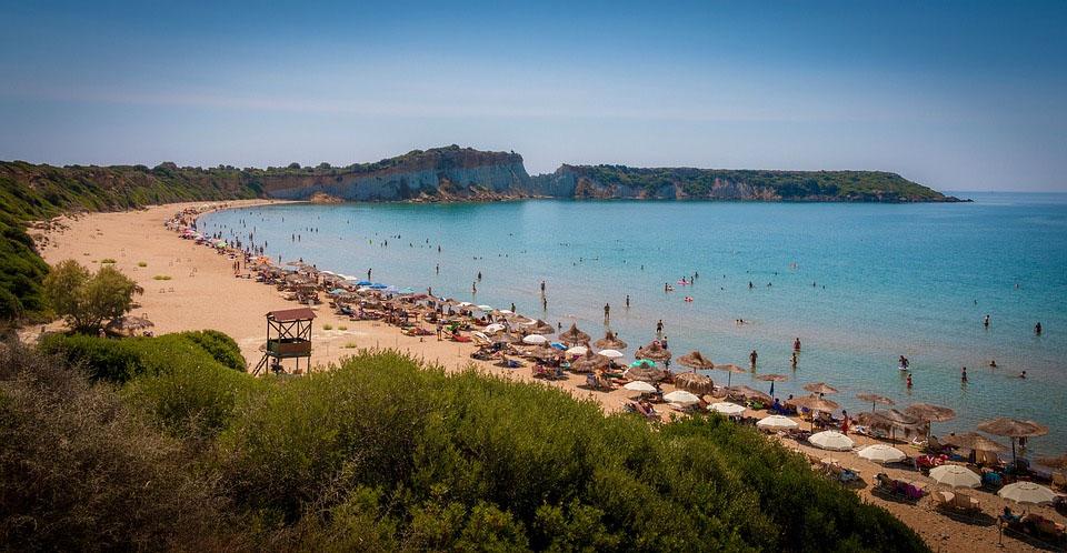 Greece Zakynthos Gerakas Beach