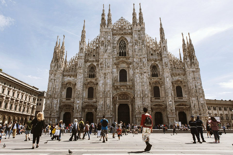 Italy Milan The Duomo Cathedral