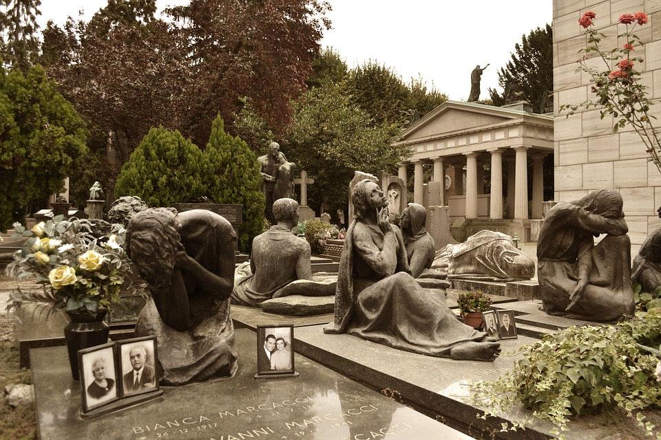 Italy Milan Cimitero Monumentale