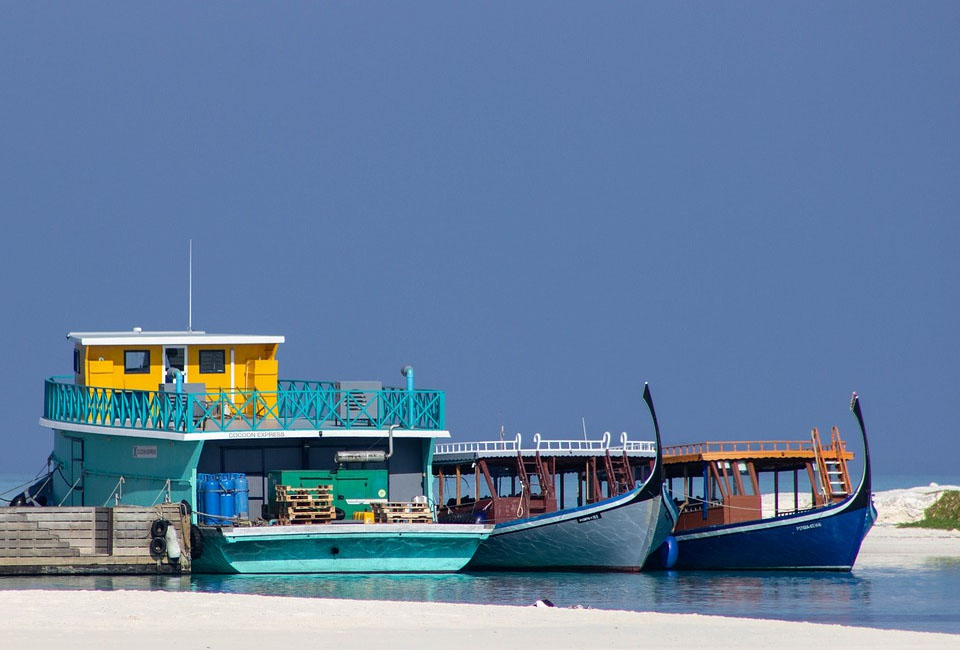 Maldives Local Boats