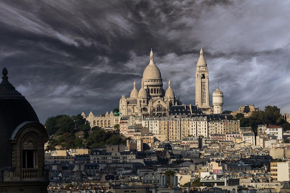 Paris Sacre Coeur Montmartre