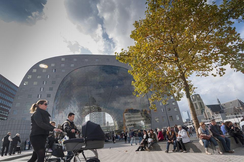 Rotterdam Markthal Market Hall