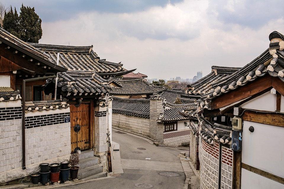 South Korea Bukchon Hanok