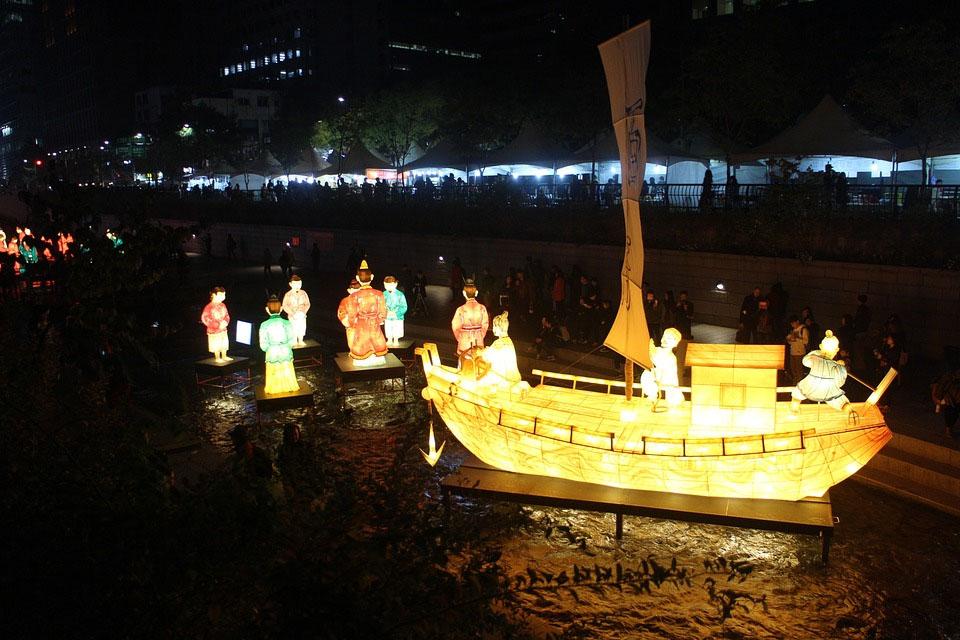 Korea Seoul Lantern Festival