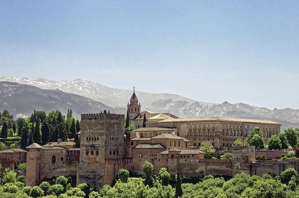 Spain Alhambra Castle