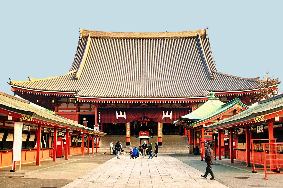 Tokyo Senso Ji Temple
