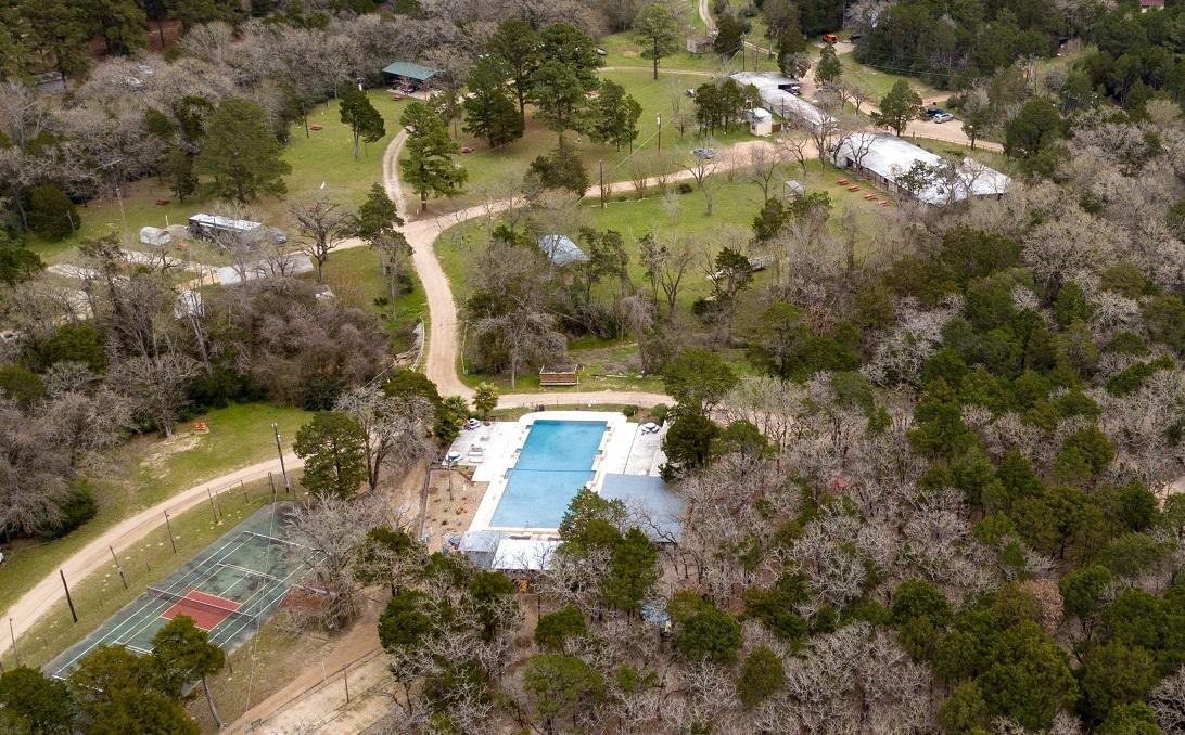 Star Ranch Texas Nudist Resort Aerial View