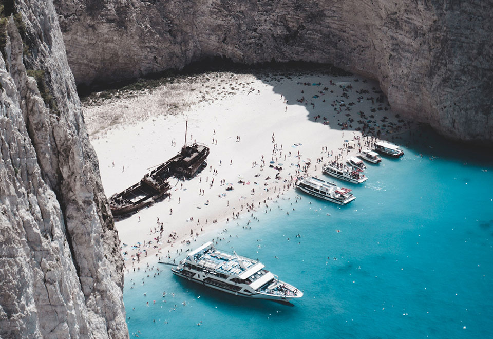 Greece Shipwreck Cove