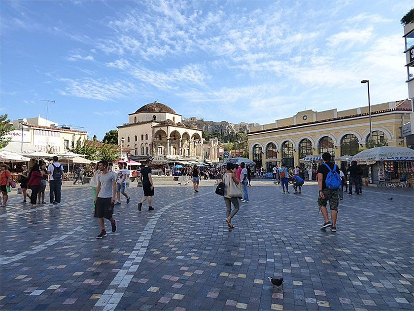 Greece Athens Monastiraki Square